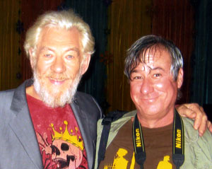 Ian McKellen and Keith Stern, Los Angeles 2007